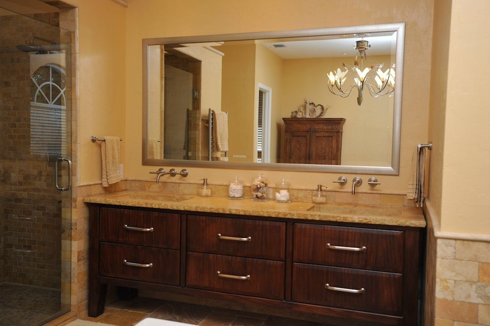 Master bathroom vanity.  #bathroom