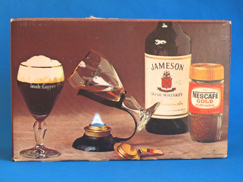 Bmf Irish Coffee Set Vine Jameson Whiskey Gles