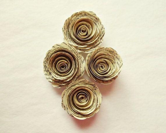 handmade paper roses