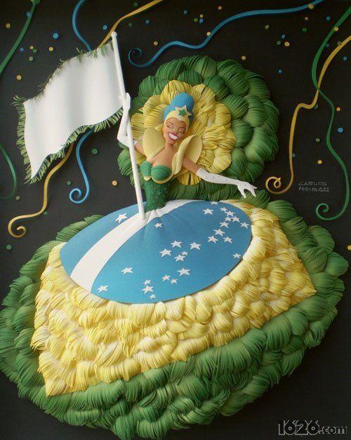 巴西创意立体剪纸艺术Carlos Meira - 玩物 - 1626.com 潮流 创意 态度 玩乐 | 中国潮流指标社区网站