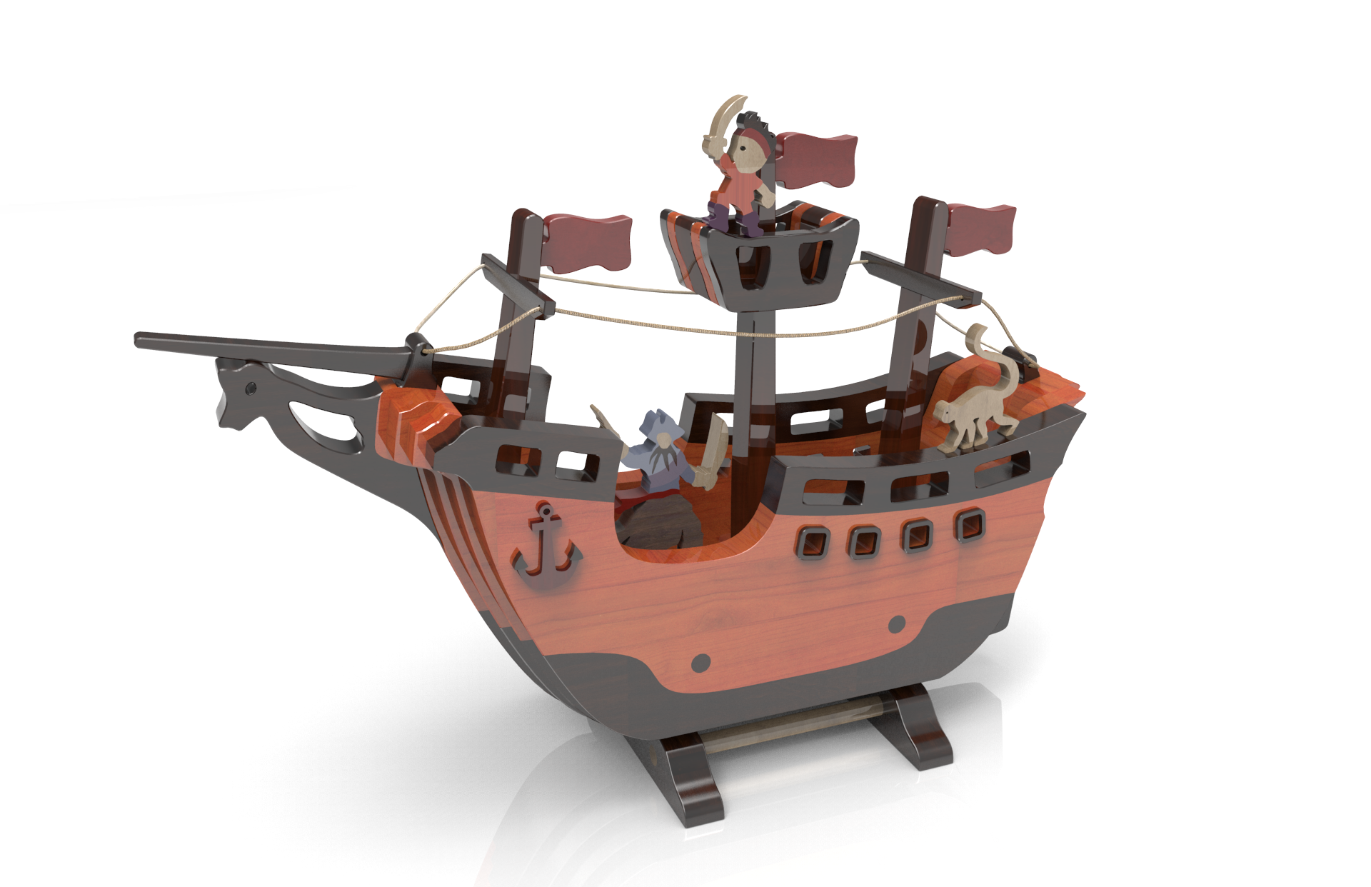 pirate ship | toys | wood toys plans, wood toys, wood projects
