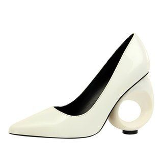 66b06f3f5 Stylewe Women's Heels Pointed Toe Nude Elegant Heels | shoes in 2019 ...