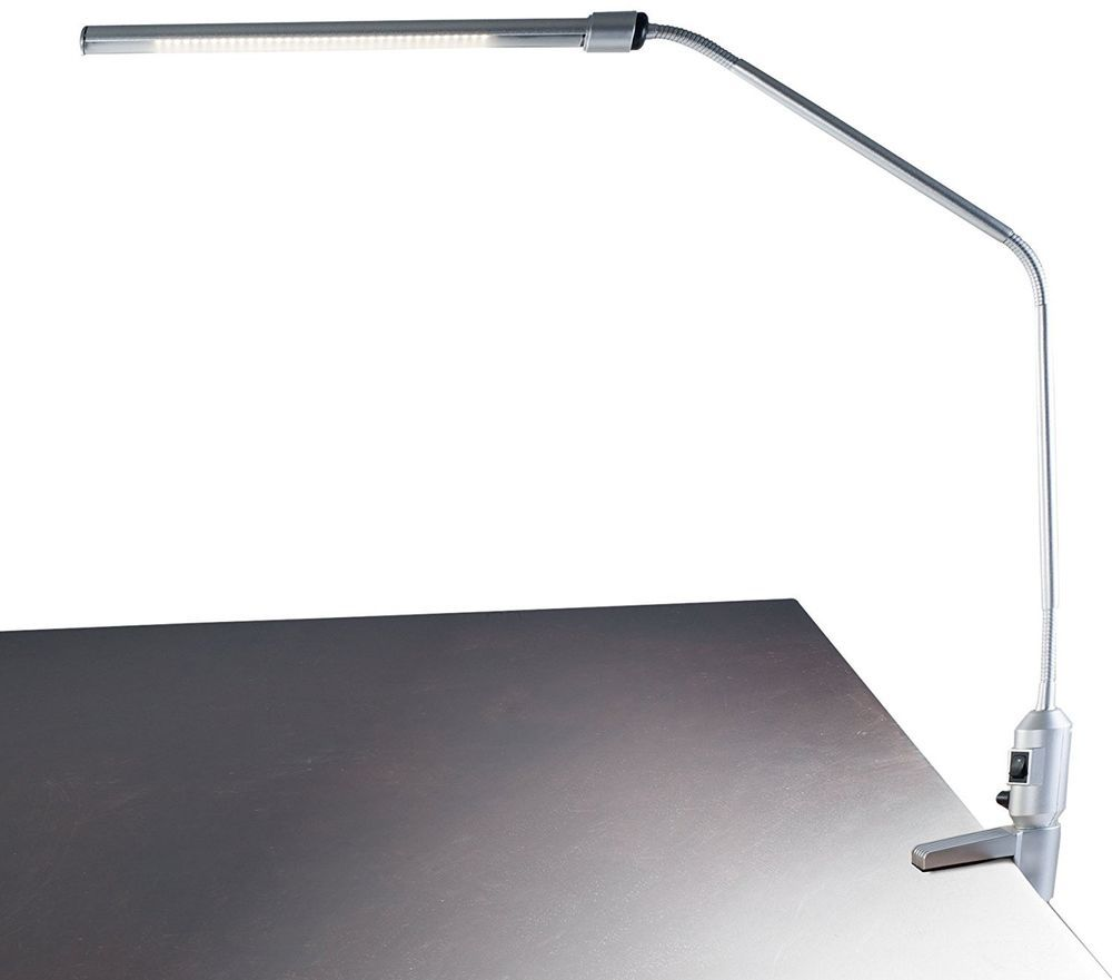 Lavish Led Clamp On Desk Lamp Table 41 Flexible Neck Reading Writing Working Lavishhome Modern Led Desk Lamp Lamp Clamp On Desk Lamp