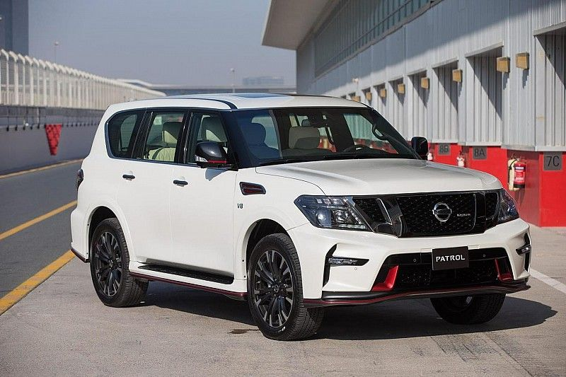 Nissan Introduces 428 Bhp Patrol Nismo In Dubai To Celebrate Nismo Launch In The Middle East Video Nissan Patrol Nissan Suv