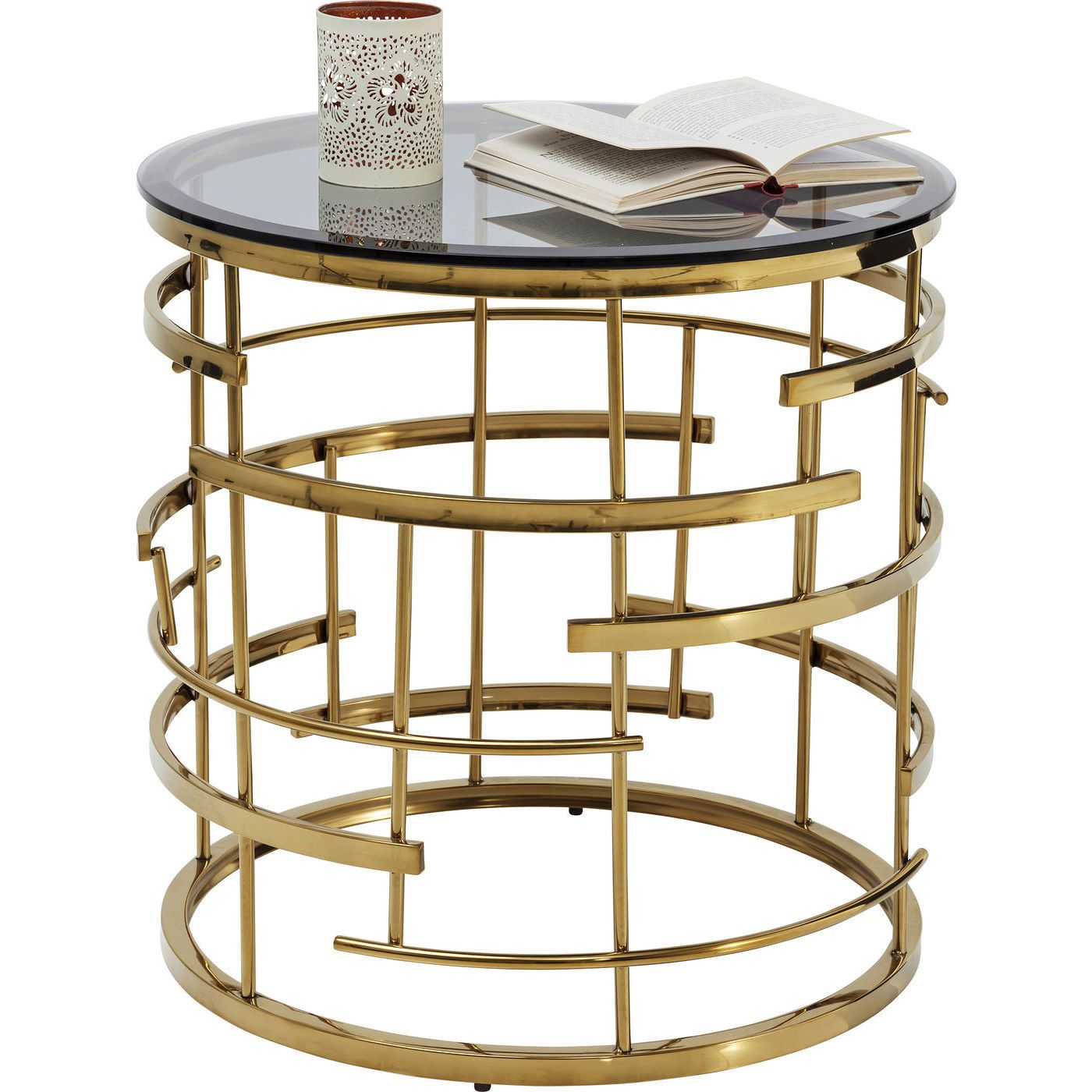 Mesa Auxiliar Jupiter O55cm Side Table Coffee Table Metal Side Table [ 1400 x 1400 Pixel ]