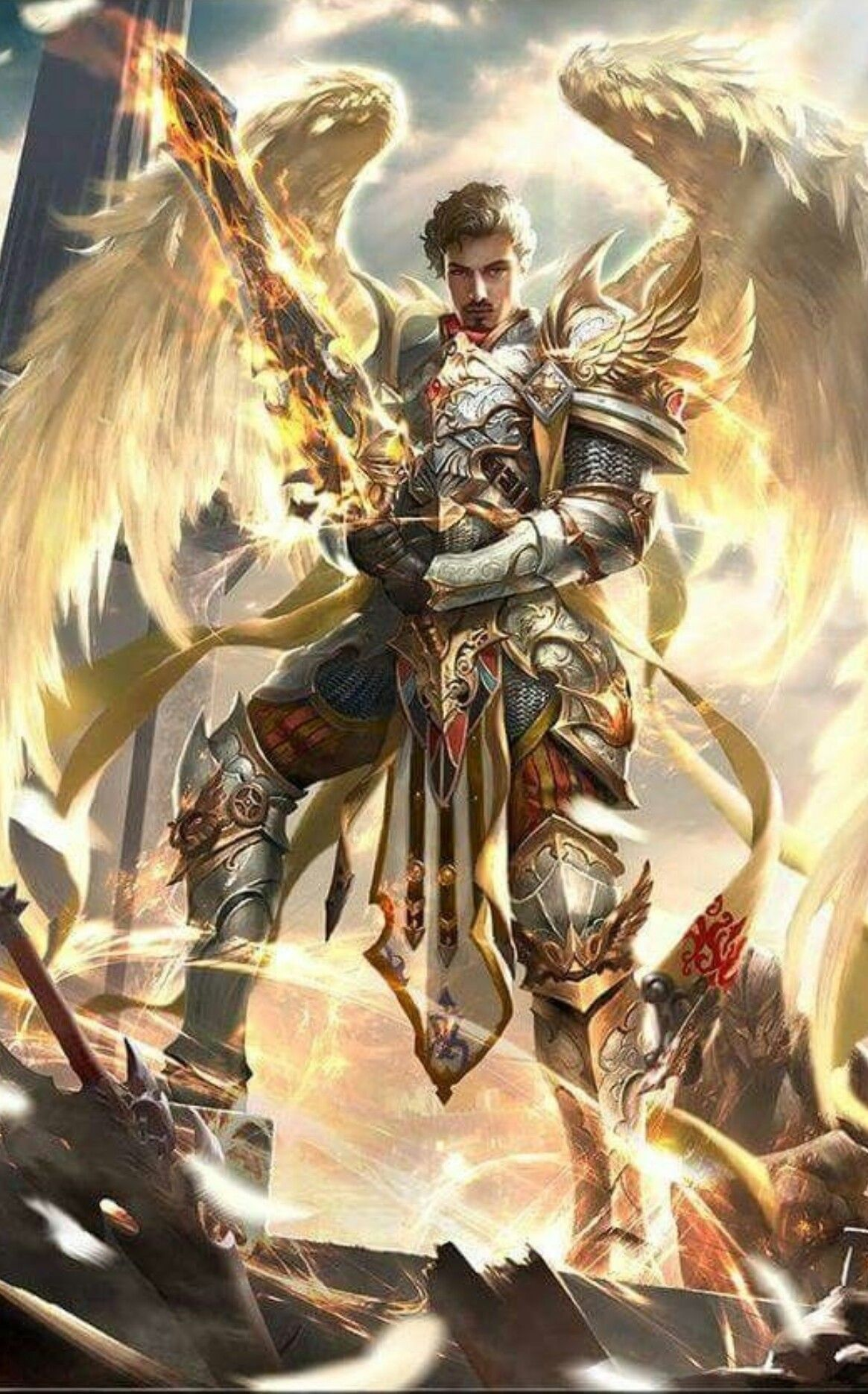 Pin by Phil Armour on Angel (With images) | Angel warrior ...