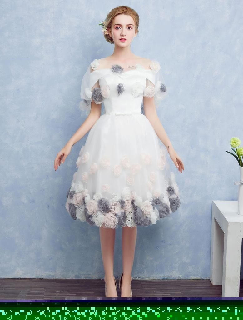 Milanoo milanoo white prom dresses tulle off the shoulder
