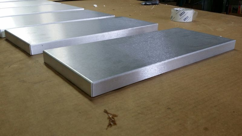 Aluminum Sheet Metal Custom Made Tray Or Box Aluminum Sheet Metal Sheet Metal Metal Box