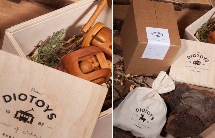 The Diotoys Pinterest Package Design Branding Design And Design