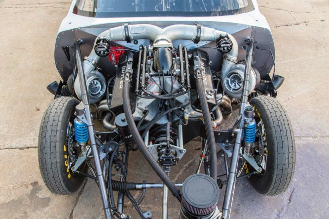 """The Crowmod -- Justin """"Big Chief"""" Shearer's new car will debut on the next season of Discovery Channel's Street Outlaws"""