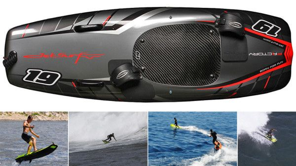 Surf At 35MPH With The Gas Powered Surfboard!  - http://www.gearfuse.com/surf-35mph-gas-powered-surfboard/