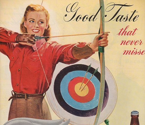Image result for vintage woman hunting