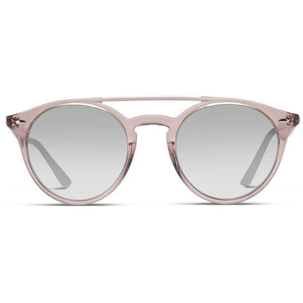 0f604679be Ray-Ban 4279 Clear Pink (€145) ❤ liked on Polyvore featuring accessories