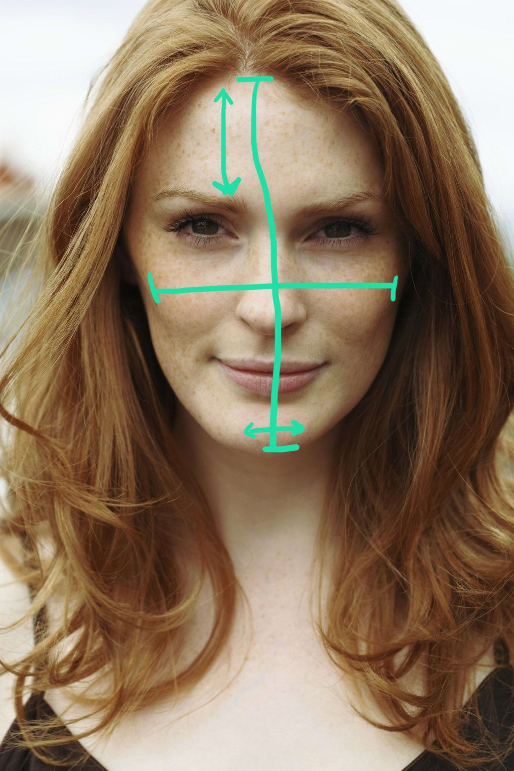 12 Simple Makeup Tricks For Every Face Shape Oval face