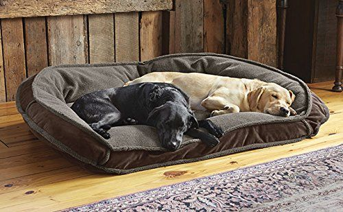 Orvis Deep Dish Dog Bed With Fleece Xlarge Dogs 90120 Lbs Multiple Dogs Chocolate For More Information Visit Image Li Dog Bed Large Bolster Dog Bed Dog Bed