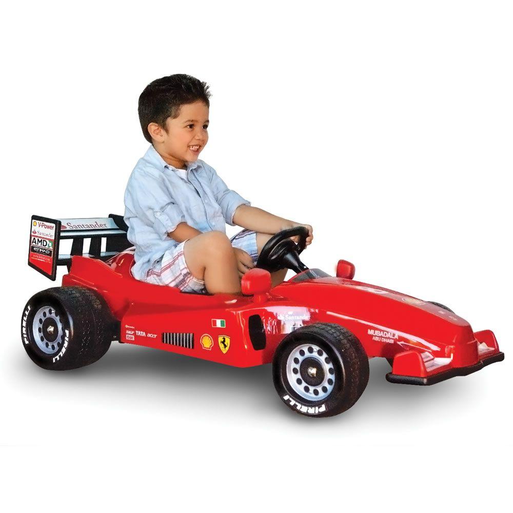 Special Value: The Ride On Formula One Ferrari - Hammacher ...