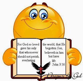 John 3 16 Bible Emoji Bible Inspiration Bible Prayers