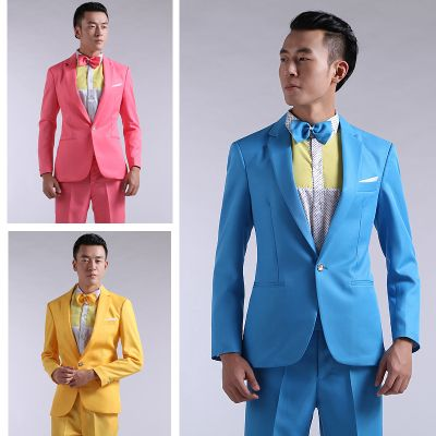 2016 New Long-Sleeved Men\'s Suits Dress Hosted Theatrical Tuxedos ...