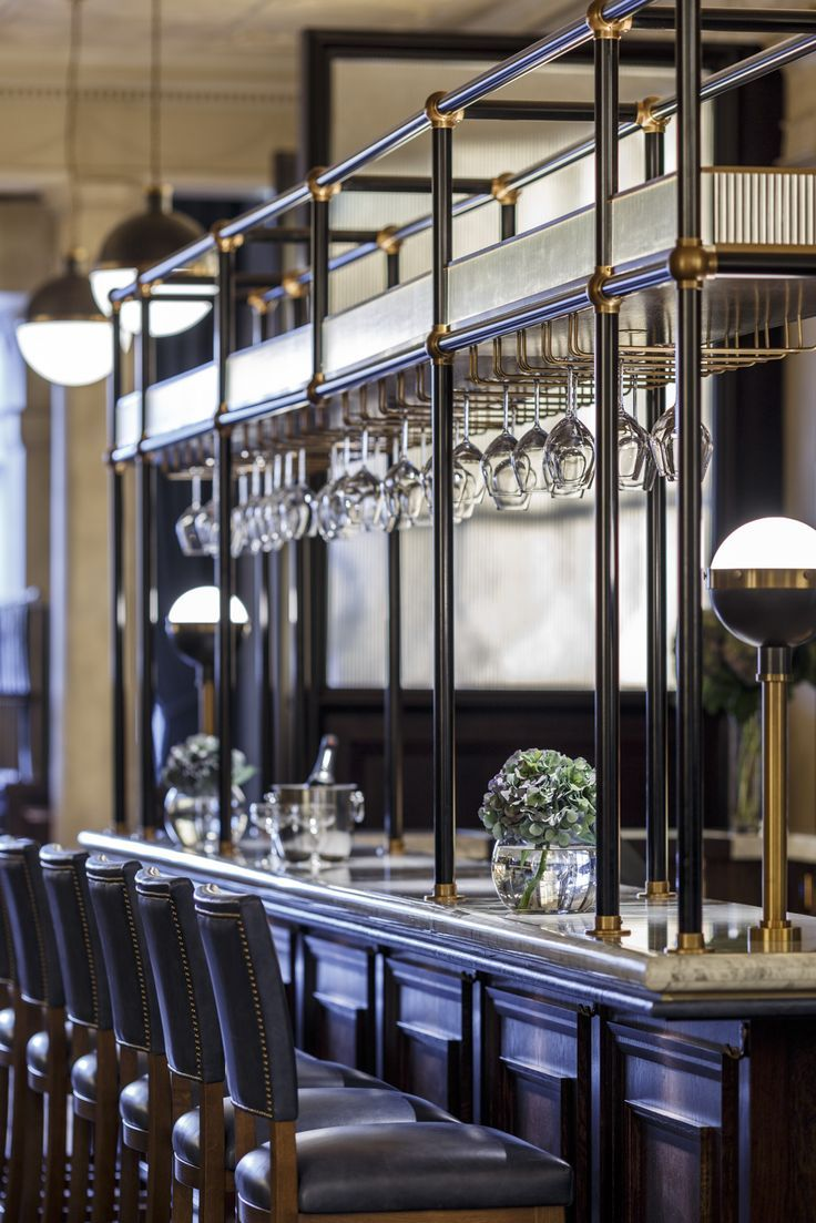 The Printing Press Bar And Restaurant, Edinburgh, Scotland. Perfect Blend  Between Traditional Detailing