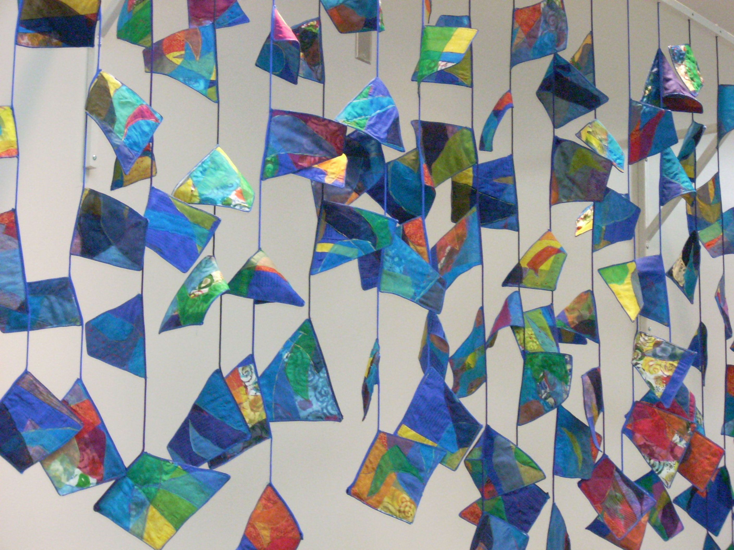 Watercolor Flags Community Art Art Projects For Adults Family