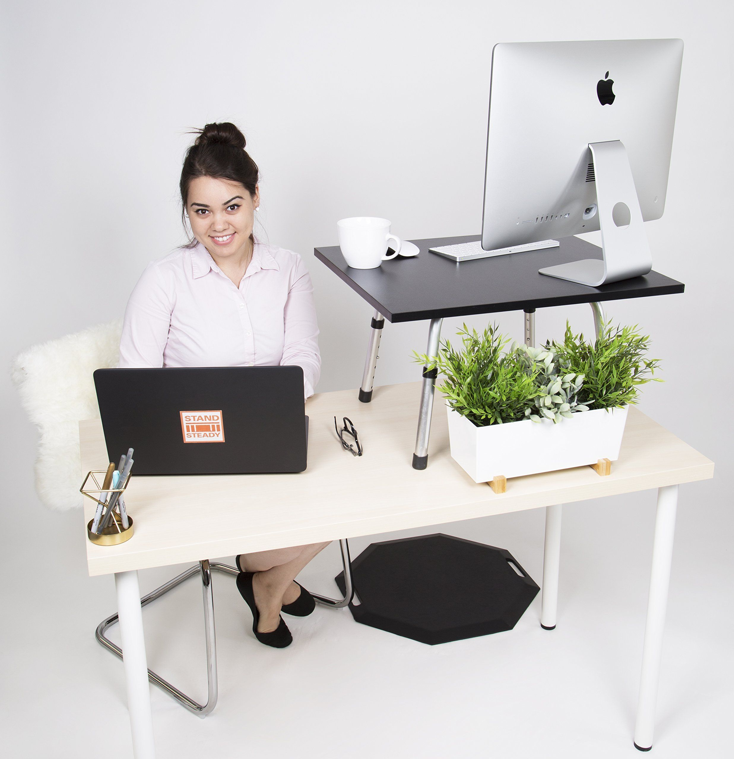 Stand Steady Original Standing Desk – Large Surface 23.5