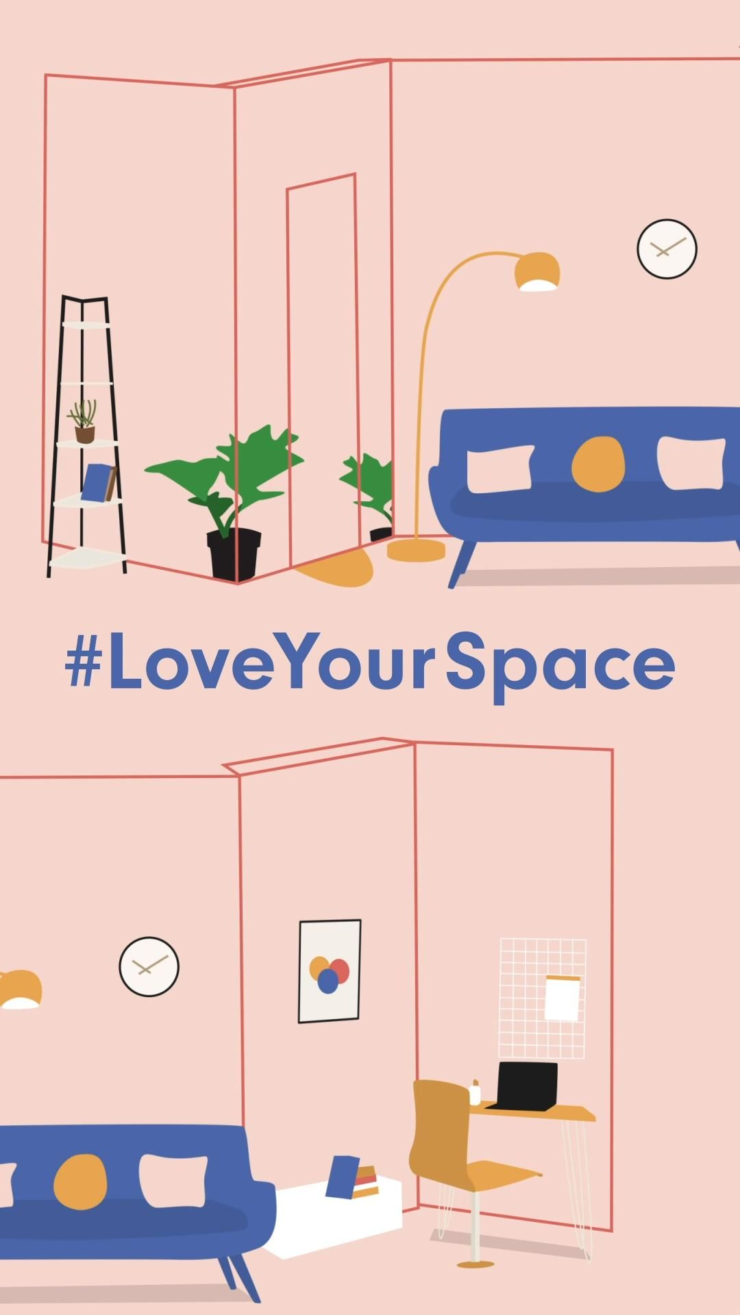 Launched during lockdown, #LoveYourSpace is a House Beautiful UK campaign to help you make home life more productive. We'll be curating how-to guides and projects for the home and garden (painting, DIY, upcycling, decluttering) all to help you create a truly happy, healthy and loving home. Whether it's a corner or nook, a small living room, narrow hallway, or a tiny garden or balcony, we'll help you to love your home and love your space.