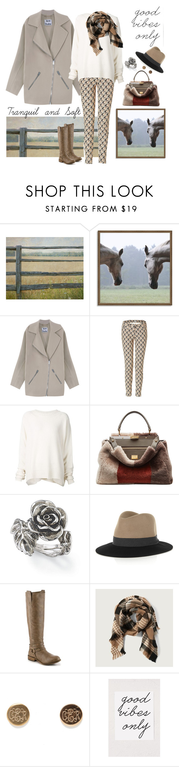 """""""Tranquility"""" by jadta ❤ liked on Polyvore featuring West Elm, Acne Studios, Kenzo, URBAN ZEN, Fendi, Natures Jewelry, rag & bone, Journee Collection and Abercrombie & Fitch"""
