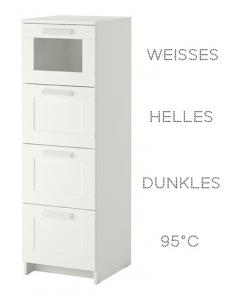 W sche sortier kommode w sche viel effektiver sortieren - Badezimmer kommode ikea ...