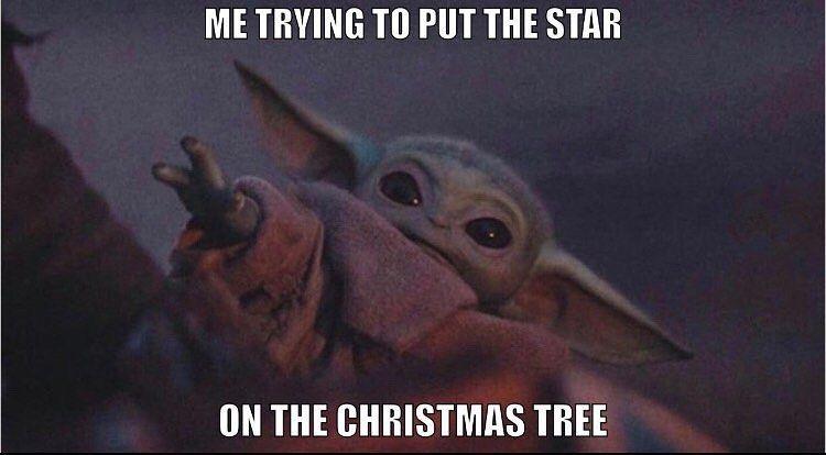 """Baby Yoda auf Instagram: """"FROHE WEIHNACHTEN 22 Tage bis Weihnachten"""""""