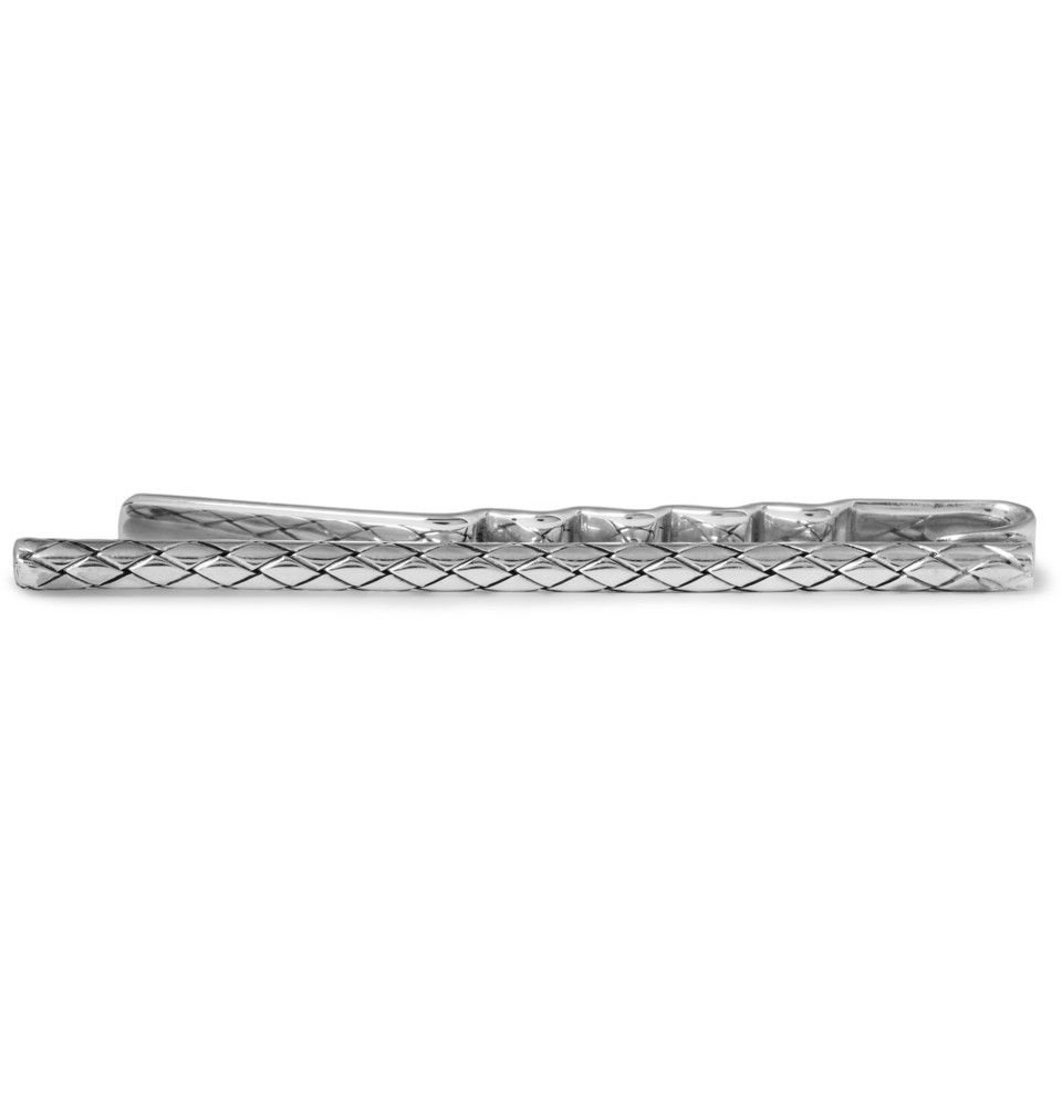 Bottega veneta engraved sterling silver tie clip mr porter bottega veneta engraved sterling silver tie clip mr porter ccuart Gallery