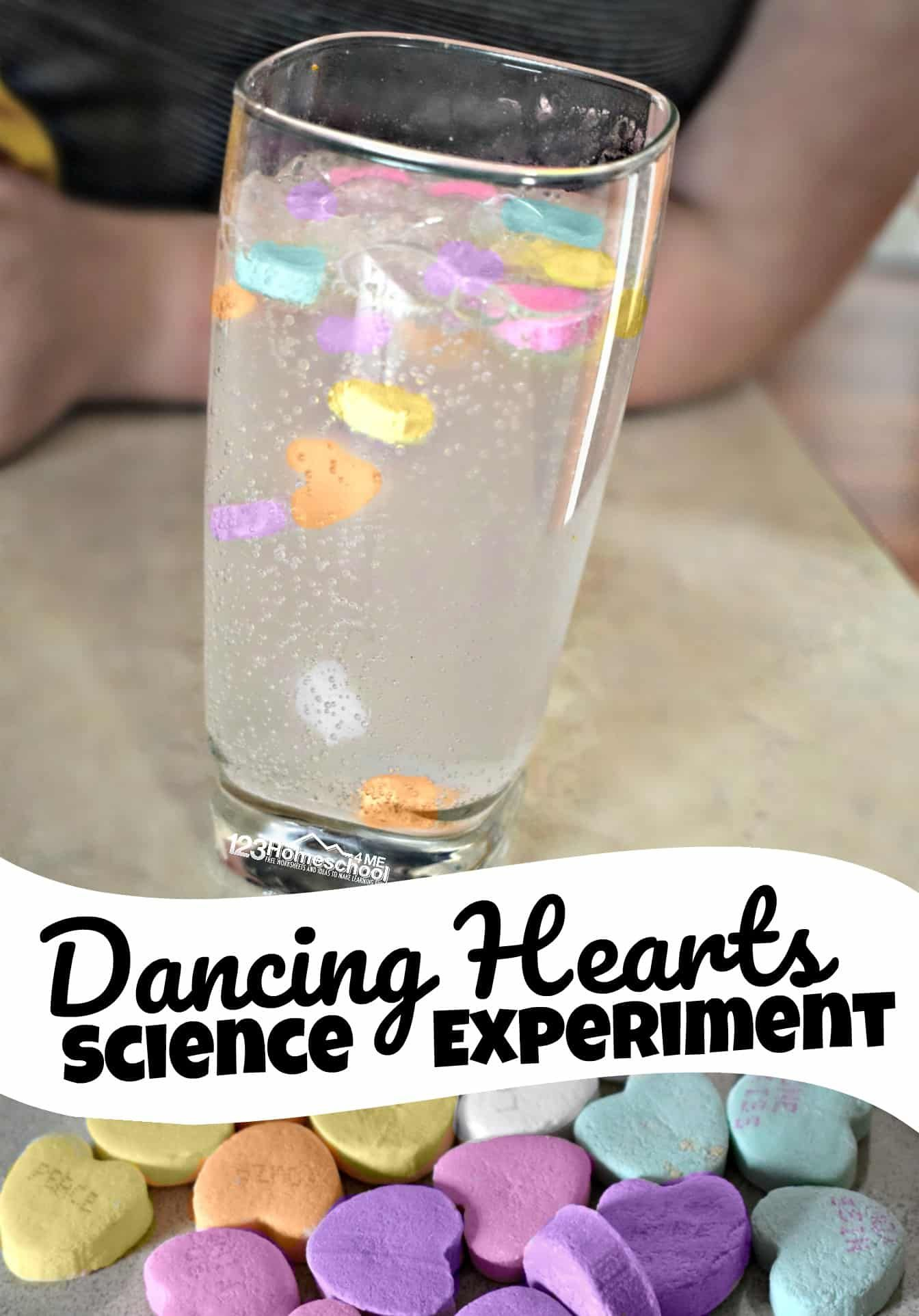 Dancing Hearts Science Experiment For Kids In