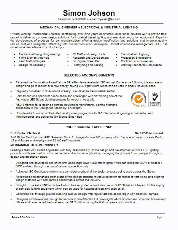 mechanical engineer resume sample famous mechanical engineer resume template example of