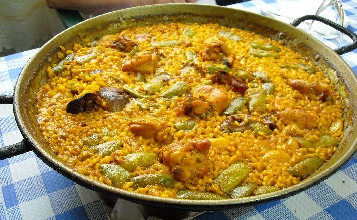Paella valenciana con denominaci n de origen diez ingredientes b sicos y no otros a saber - Ana cocina facil ...
