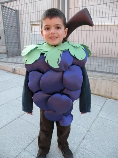 disfraz para ninos de uva