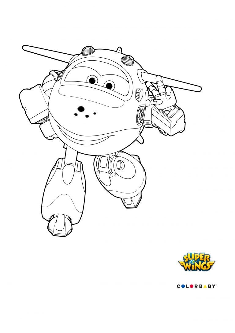 Dibujos Colorear Super Wings Mira Drawing For Kids Coloring Pages
