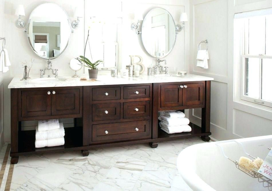cherry wood bathroom vanity beautiful