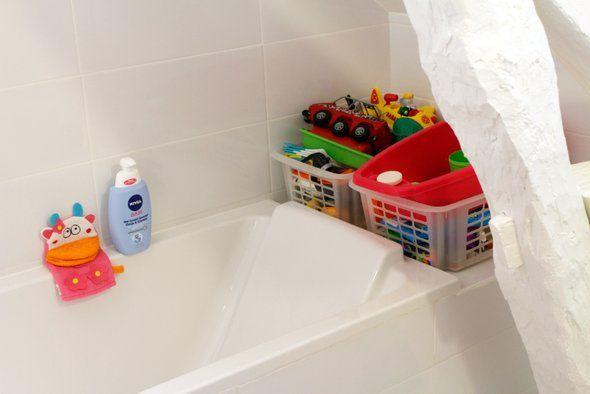 La salle de bain des enfants déco