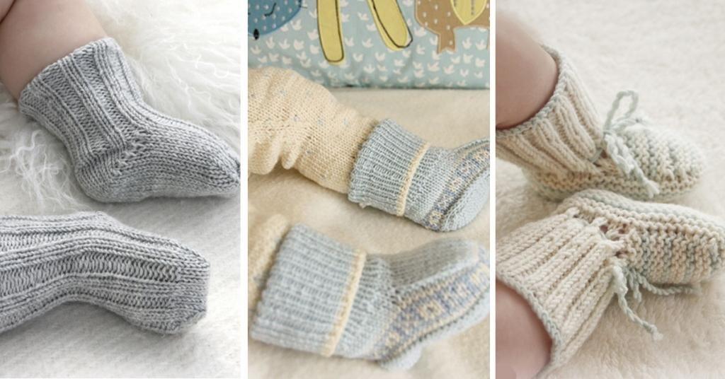 8 Patrons gratuits et en français pour réaliser de magnifiques chaussons pour bébé! - Trucs et Bricolages