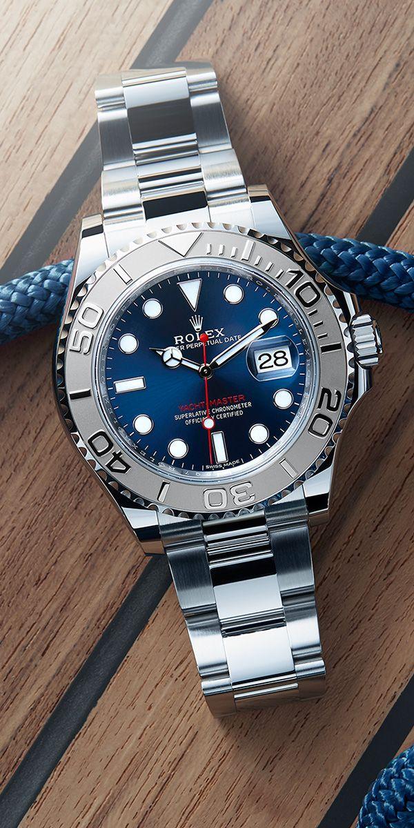 Marine chronometer the Rolex Yacht,Master 40 in 904L steel