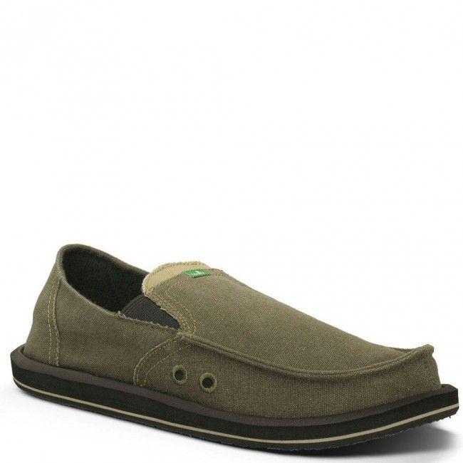 SMF1032-BRN Sanuk Men's Pick Pocket Casual Shoes - Brown www.bootbay.com