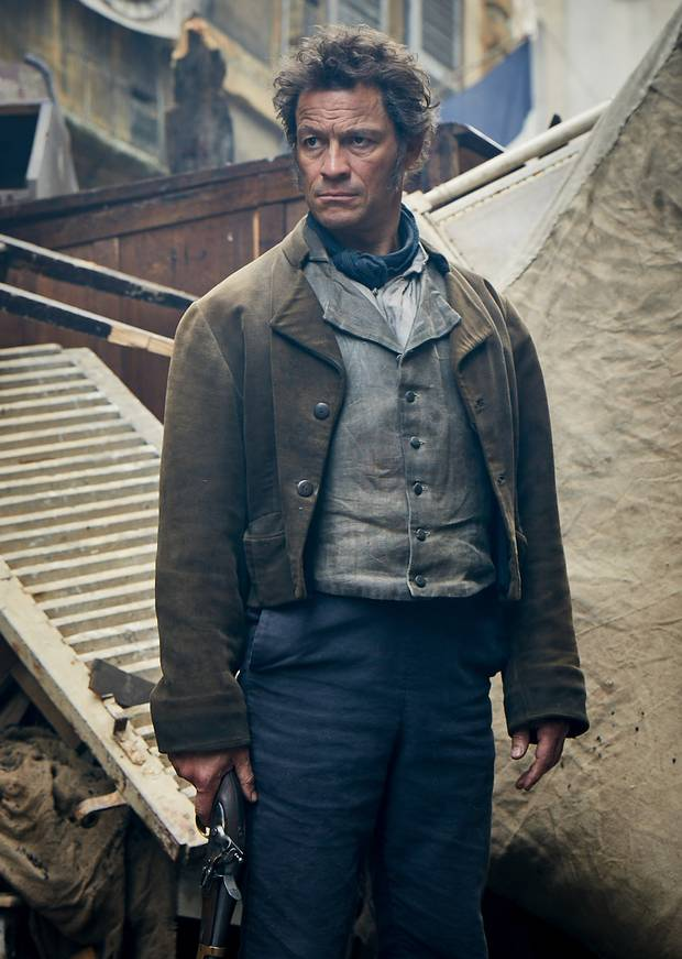 Dominic West Stars As Jean Valjean In First Look At Bbc S Les Miserables Jean Valjean Dominic West