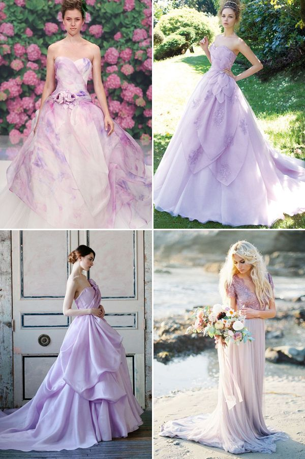 Non Traditional Yet Elegant 20 Light Colored Wedding Dresses You Will Love