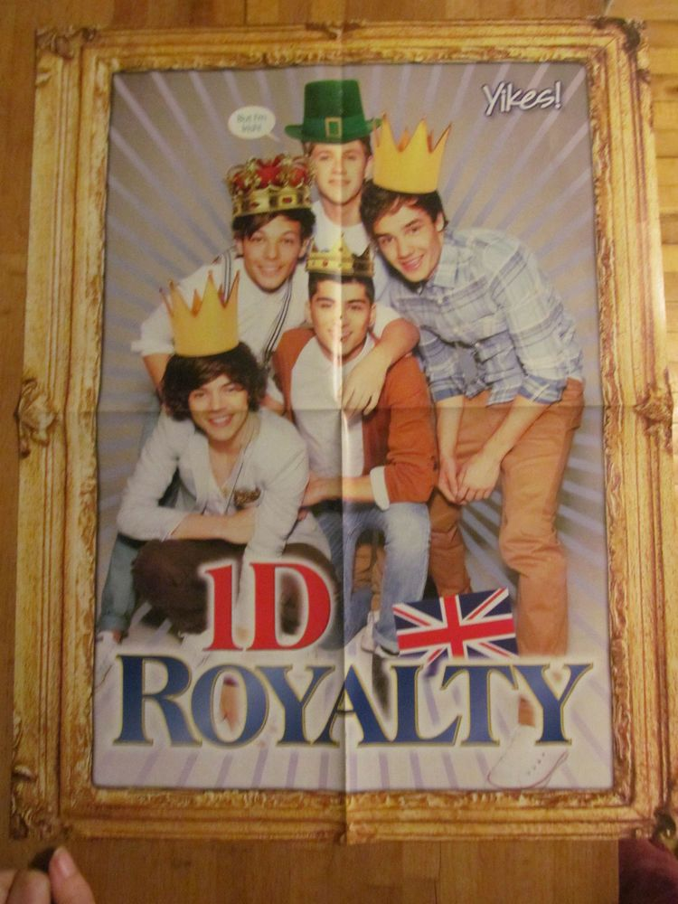 One Direction, Twilight, Double Sided Four Page Foldout Poster