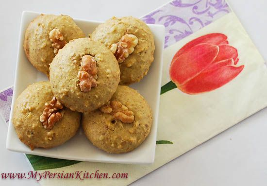 Persian almond cookies recipe
