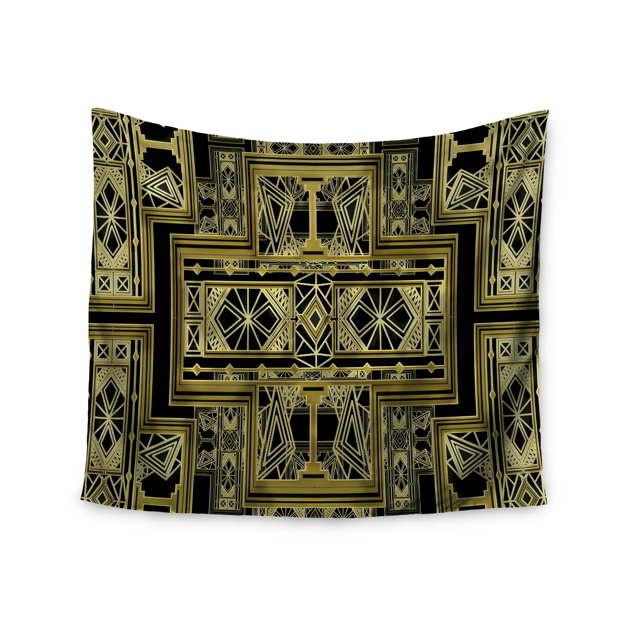 Art Deco Tapestry Wall Hanging Tapestry Wall Deco Wall Tapestry