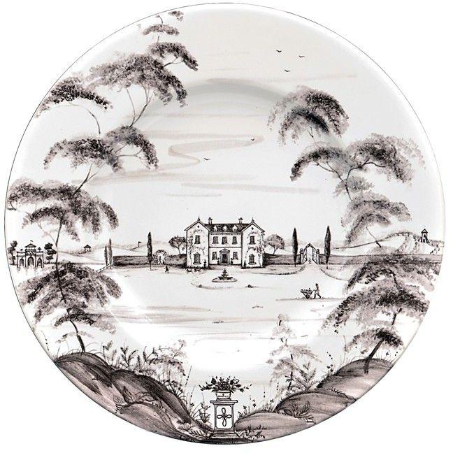 """Juliska Country Estate """"Main House"""" Dinner Plate"""