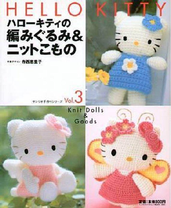e8cd22f34 Hello Kitty Crochet Pattern ,Crochet Pattern eBook - Hello Kitty ...