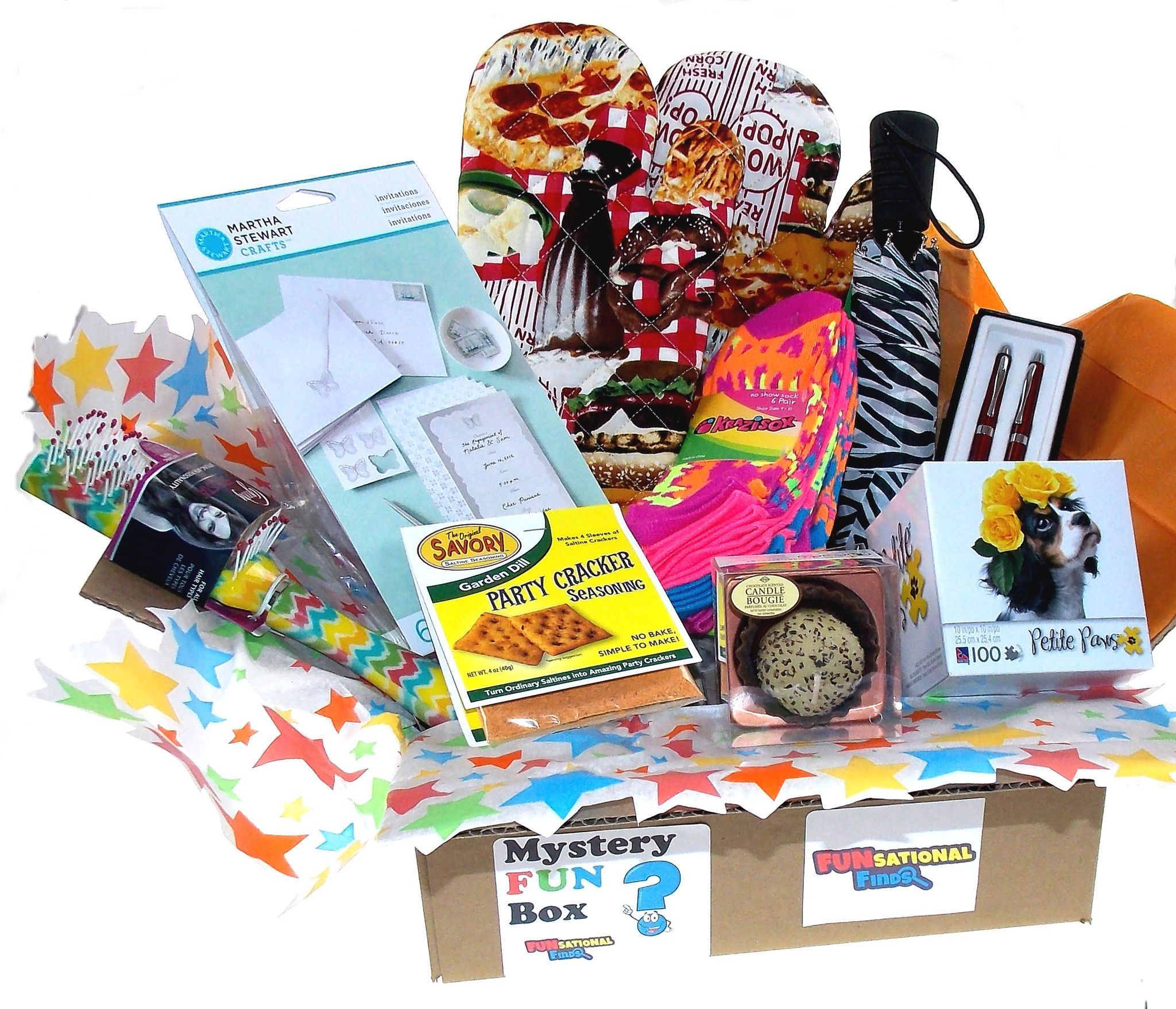 Women's Mystery FUN Box Get 4 6 (or even more!) items in