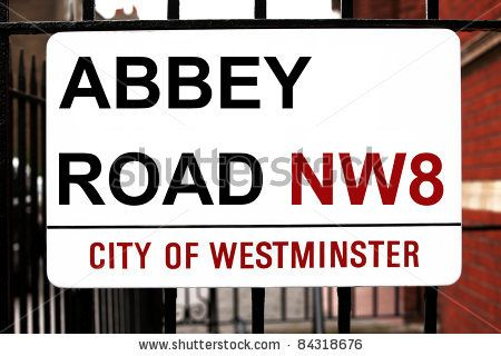 London, Uk - Jule 06: Abbey Road Sign At Recording Studios Made Famous By The 1969 Beatles Album Jule 06, 2011 In London, Uk Stock Photo 84318676 : Shutterstock