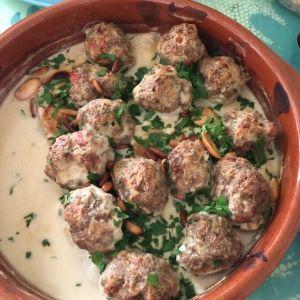 كفتة اللحم بالطحينة أضيفت بواسطة أم رائد الأطباق الرئيسية Mediterranean Recipes Recipes Lebanese Recipes